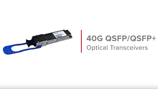 40G QSFP/QSFP+ Product Overview