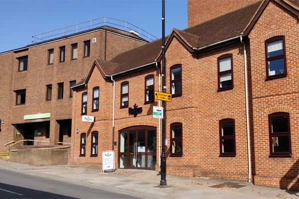 Brown Brick House