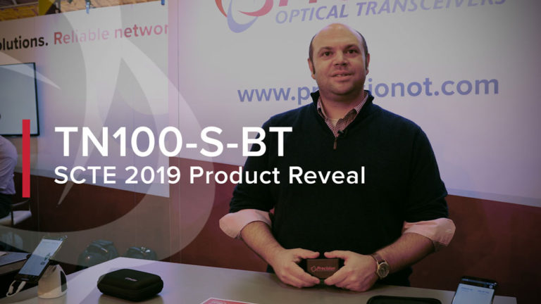 SCTE 2019 Product Reveal - TN100-S-BT Tuning Box